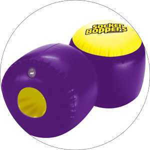 Top Socker Boppers Inflatable Boxing Pillows